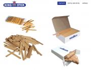 King Sticks - Eisstile  und Spatel aus Holz